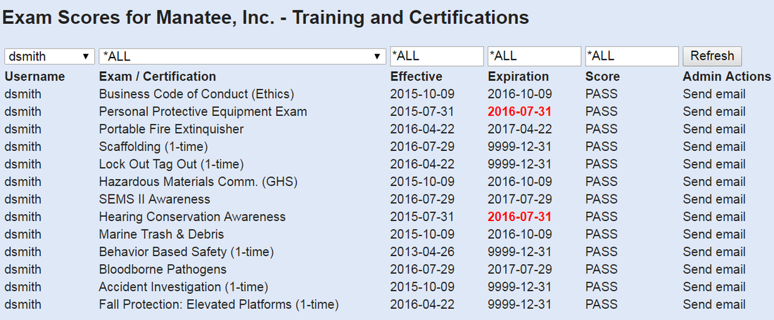 B-MAP Training and Certifications Window Pane