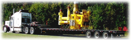 Road Transportation of Subsea Tubing Head Spool